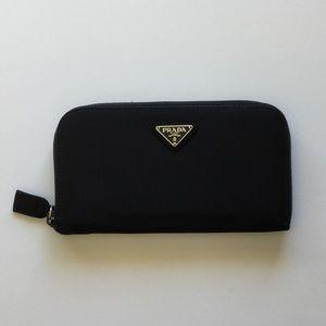 Prada Zip Around Wallet